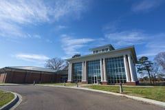 Centro para la ecología y recursos naturales en la universidad de Alcorn Imagen de archivo libre de regalías