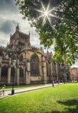 Centro Prominade cerca de la universidad de Bristol Foto de archivo libre de regalías