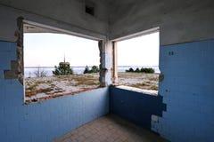 Centro ricreativo abbandonato Immagine Stock