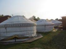 Centro ricreativo nello stile mongolo Fotografia Stock