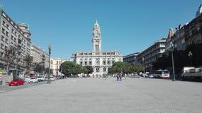 Centro robi Porto zdjęcie royalty free