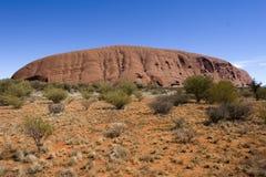 Centro rosso 2 dell'Australia Fotografia Stock