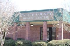 Centro sanitario della contea di Fayette, Somerville, TN fotografia stock