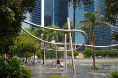 Centro a Singapore Immagini Stock Libere da Diritti