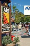 Centro spagnolo di arte del villaggio nella sosta II della balboa immagini stock