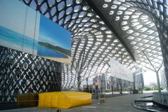 Centro sportivo della baia di Shenzhen Immagine Stock
