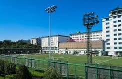 Centro sportivo di Dongdan sulla via interna di Chongwenmennei, distretto di Dongcheng, Pechino, Cina fotografia stock libera da diritti
