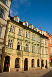Centro storico a Bratislava Immagine Stock