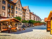 Centro storico della Polonia - di Wroclaw Immagine Stock Libera da Diritti