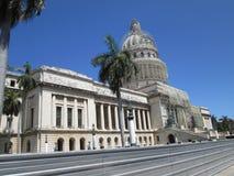 Centro storico di Avana Immagine Stock