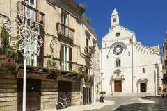 Centro storico di Bari Immagini Stock Libere da Diritti