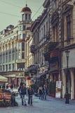 Centro storico di Bucarest Fotografie Stock