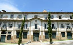 Centro storico di Guimarães, Portogallo immagine stock libera da diritti