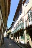 Centro storico di Guimarães, Portogallo immagini stock