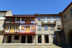 Centro storico di Guimarães, Portogallo fotografie stock libere da diritti