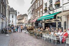 Centro storico di Hertogenbosch Olanda Fotografia Stock
