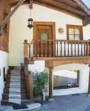 Centro storico di Kitzbuhel Fotografie Stock Libere da Diritti