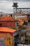 Centro storico di Oporto nel Portogallo Fotografia Stock Libera da Diritti