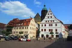 Centro storico di Pirna Immagine Stock Libera da Diritti