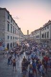 Centro storico di Ragusa Immagini Stock Libere da Diritti