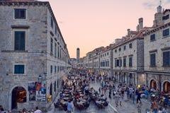 Centro storico di Ragusa Immagine Stock