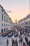Centro storico di Ragusa Fotografia Stock Libera da Diritti