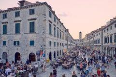 Centro storico di Ragusa Immagini Stock