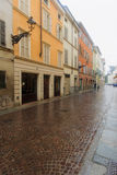Centro storico, Parma Fotografie Stock Libere da Diritti