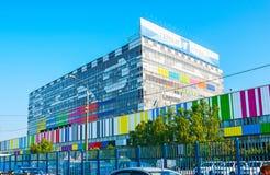 Centro tecnico di Ostankino, Mosca immagini stock libere da diritti