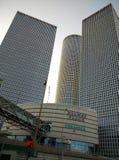 Centro Tel Aviv de Azrieli imágenes de archivo libres de regalías
