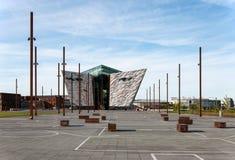 Centro titânico do visitante em Belfast Foto de Stock Royalty Free