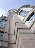 Centro torreggiante di affari Fotografia Stock Libera da Diritti