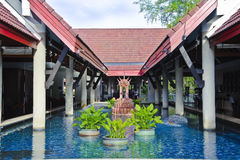 Centro turístico Fotos de archivo libres de regalías