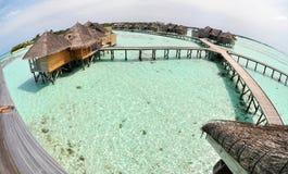 Centro turístico agradable en Maldives Imagen de archivo