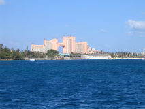 Centro turístico Atlantis Nassau Bahamas Fotografía de archivo