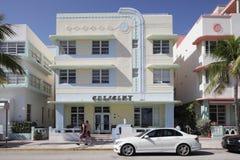 Centro turístico creciente en la playa del sur Imágenes de archivo libres de regalías