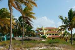 Centro turístico cubano colorido fotos de archivo libres de regalías