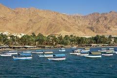 Centro turístico de Aqaba Foto de archivo