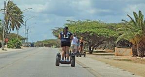 Centro turístico de Aruba en el mar del Caribe Foto de archivo libre de regalías