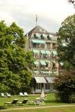 Centro turístico de Baden-Baden, Alemania Imagenes de archivo