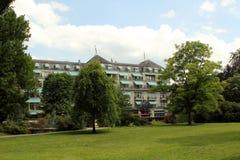 Centro turístico de Baden-Baden, Alemania Fotos de archivo libres de regalías