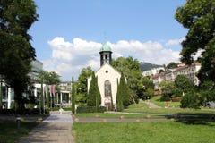 Centro turístico de Baden-Baden, Alemania Imágenes de archivo libres de regalías