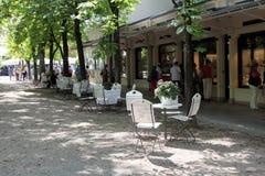 Centro turístico de Baden-Baden, Alemania Imagen de archivo