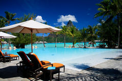 Centro turístico de Bora Bora Fotos de archivo libres de regalías