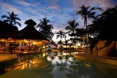 Centro turístico de Costa Rica Imágenes de archivo libres de regalías