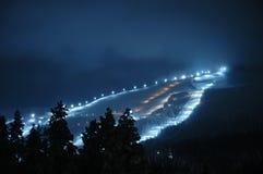 Centro turístico de esquí imagen de archivo