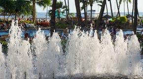 Centro turístico de Hilton Hawaiian Village Waikiki Beach Foto de archivo libre de regalías