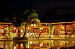 Centro turístico de isla de Layang-Layang Fotos de archivo