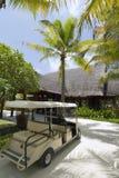 Centro turístico de isla de Maldives Fotos de archivo libres de regalías