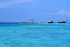 Centro turístico de isla del paraíso Foto de archivo libre de regalías